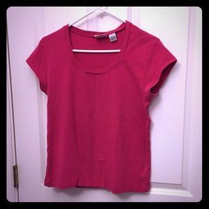 Chico's pink short sleeve top